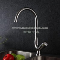 Single Lever Kitchen Faucet Swivel Sink Faucet Modern Kitchen Faucets Hot And Cold Water Mixer Chrome