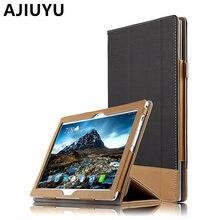 AJIUYU Para Lenovo Tab 4 10 Cubierta de la Caja de Cuero Protectora Protector Inteligente Tab410 PU TB-X304L X304N X304F Tablet Cases 10.1 pulgadas