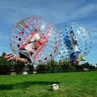 Бесплатная доставка надувной пузырь футбольный мяч 0,8 мм ПВХ 1,5 м диаметр воздушный шар надувной шар Зорб бампер пузырь шаровой бампер футбо