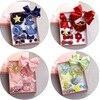 10pcs Box Baby Girls Hair Clip Set Sparkling Headdress Flower Star Crown Hair Claw Barrette Children
