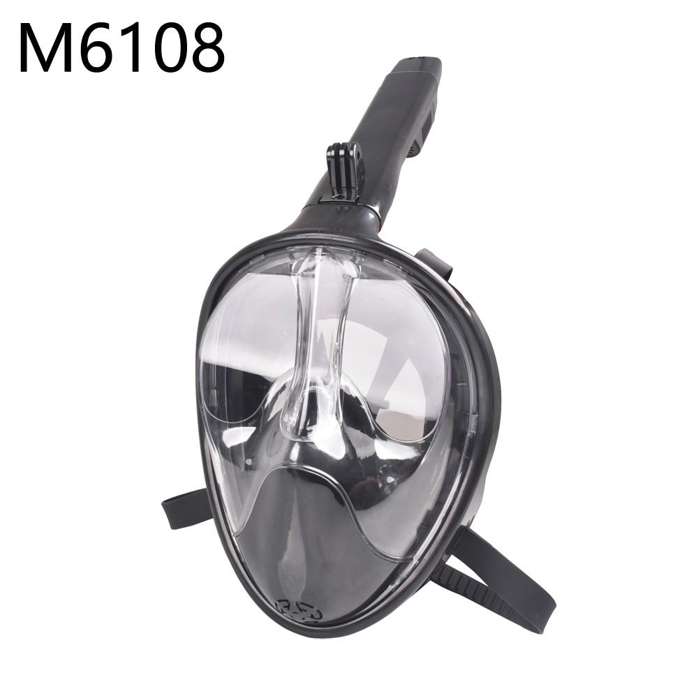 Masque de plongée avec tuba masque de plongée en apnée masque de plongée Anti-buée - 3