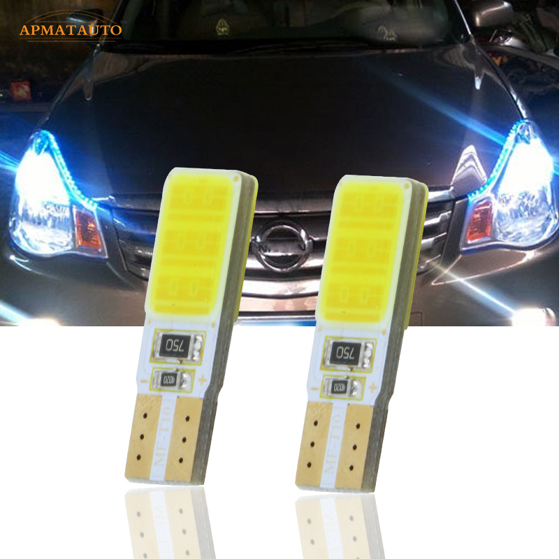 2x T10 W5W LED Parking Lights Marker Lamps Bulb For Nissan LIVINA Pathfinder TEANA Qashqai Bluebird Sylphy Sunny TIIDA MURANO NV