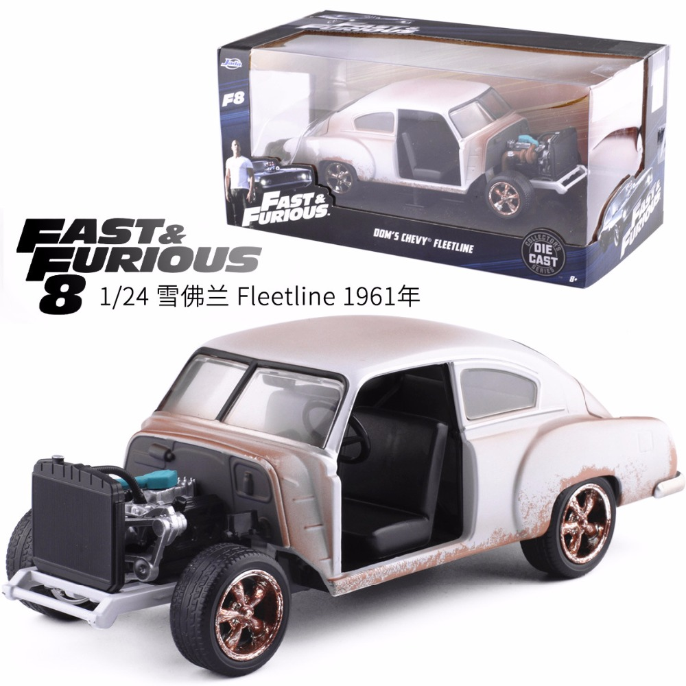 New Jada 1:24 FAST AND FURIOUS F8 DOM'S CHEVY CHEVROLET