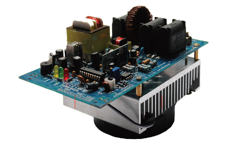 electromagnetic 2000W 220V induction heating control panel