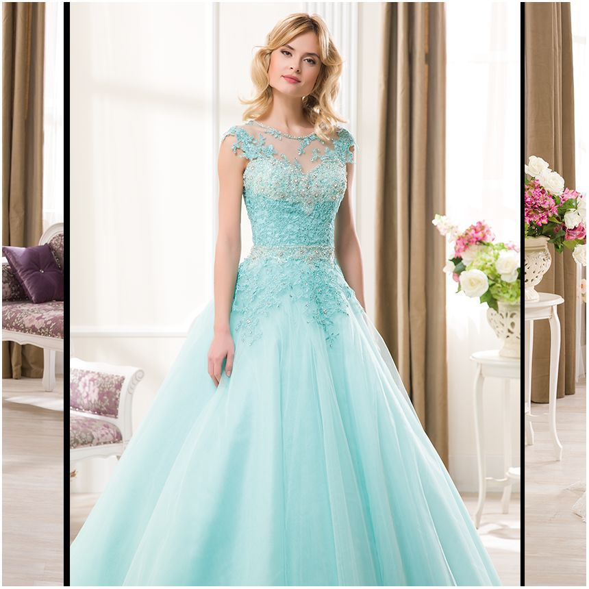 Tiffany Blue Quince Dresses 2015