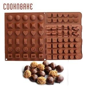 COOKNBAKE силиконовая форма для шоколада, конфет, торта, выпечки, форма для выпечки, круглое сердце, мороженое jello gummy, форма для печенья, торта, ин...