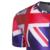 Homens novos da Chegada Prevista de Impressão bandeira Australiana T-shirt de Manga Curta de Verão desgaste marca clothing t shirt dos homens em torno do pescoço parte superior ocasional Tees