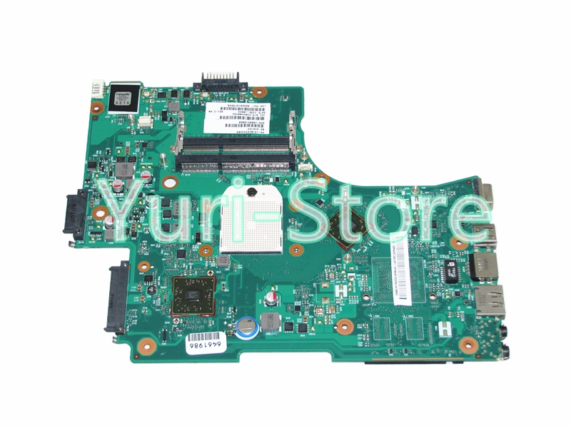 NOKOTION for Toshiba Satellite L650D V000218060 1310A2333209 Laptop Motherboard HD4200 DDR3 Full Tested for toshiba satellite l745 l740 intel laptop motherboard a000093450 date5mb16a0 hm65 tested