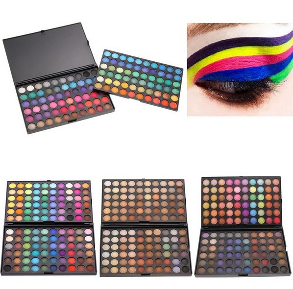 New 120 Full Colors Eyeshadow Cosmetics Mineral Make Up Professional Makeup Eye Shadow Palette Kit