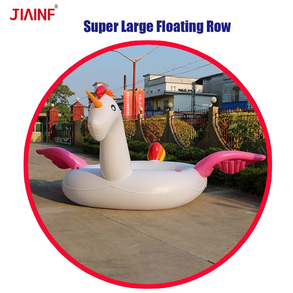 Giant Swimming Pool Inflatable Unicorn Floats,inflatable Rainbow Unicorn Party Bird Island Float