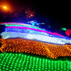 8M X 10M 1920 LED Home Outdoor Holiday Christmas Decorative Wedding Xmas String Fairy Curtain Garlands