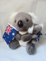 about 20cm lovely cartoon koala plush toy soft doll Christmas gift s2144