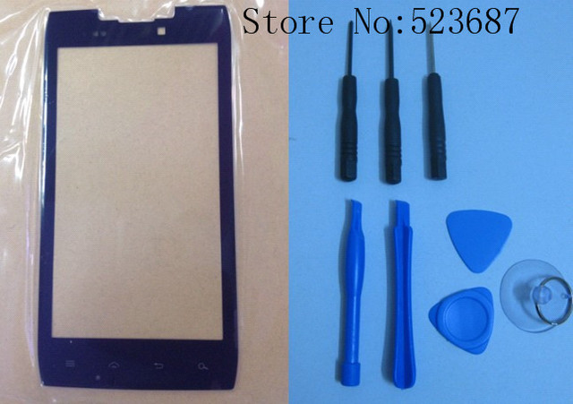 100% original Outer LCD Screen Lens Top Glass Replacement for for Black motorola XT910 with Open tools +Free Shipping