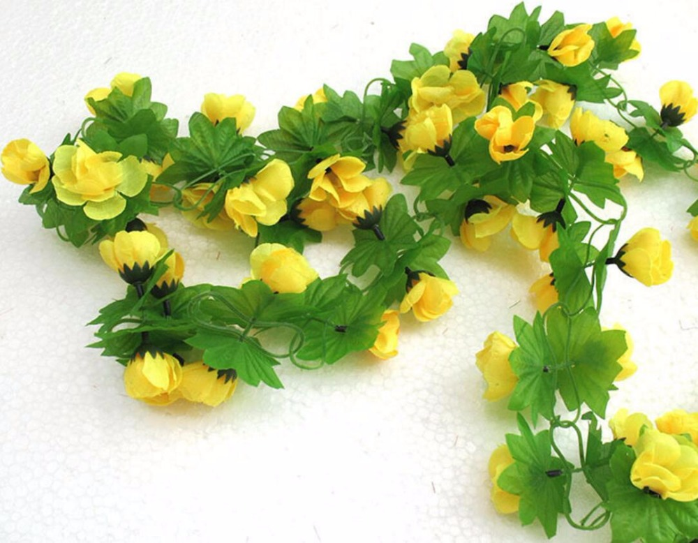 online get cheap yellow flower vines aliexpress  alibaba group, Beautiful flower