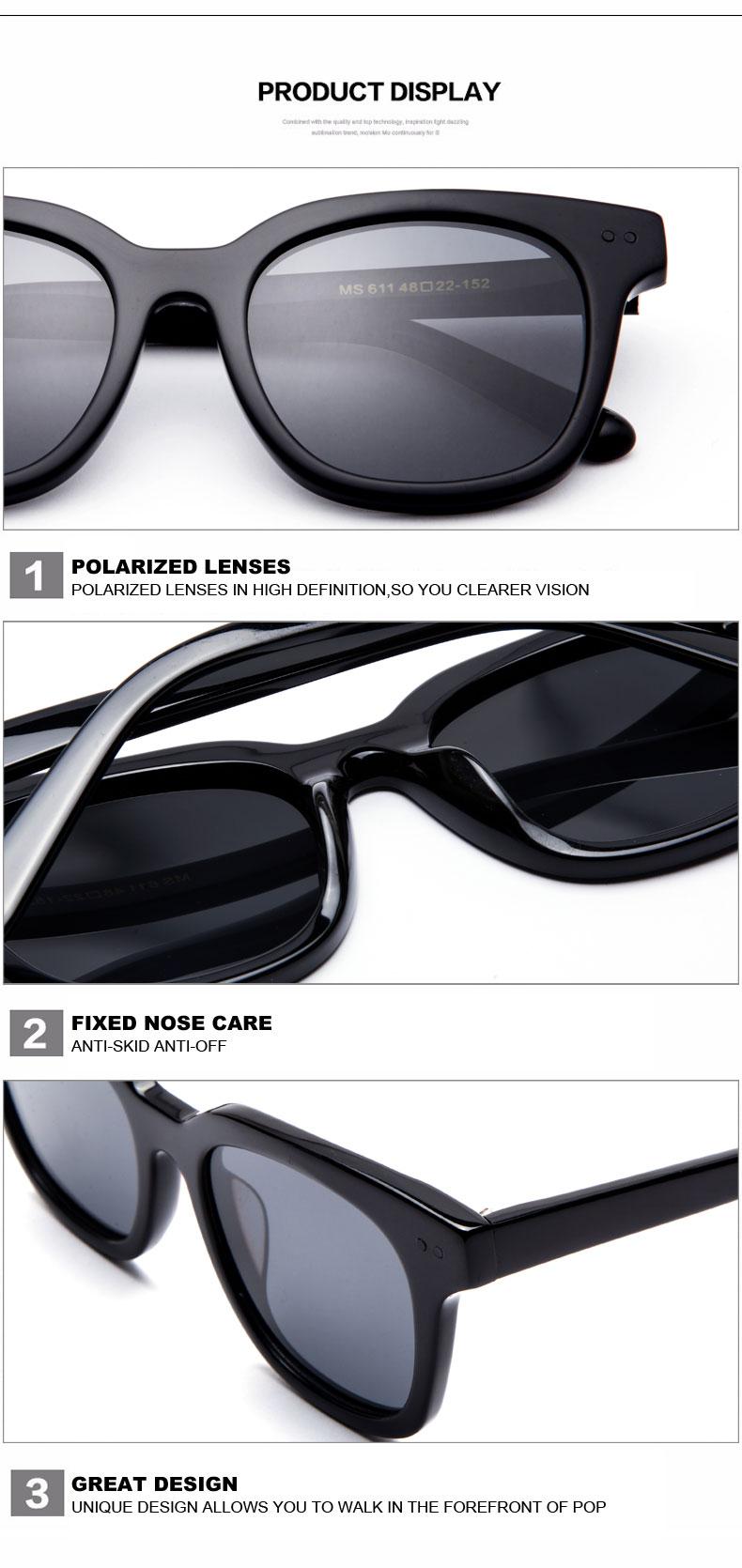 Lens polarized Glasses Stop118 8