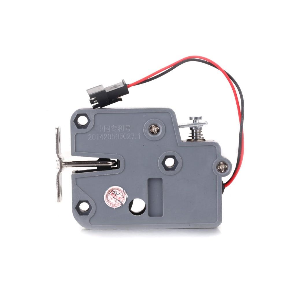 2pcs DC 12V 0.43A/2A Mini Electric Bolt Lock for Cabinet Small Cabinet Lock/solenoid Door Lock Low Freight Country 12v mini electric cabinet lock for vending machine storage gun cabinet