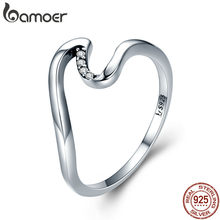 3f09ff9e1e Popular 925 Sterling Silver Wave Ring Jewelry-Buy Cheap 925 Sterling ...
