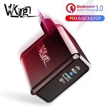 VVKing 36 Вт двойной USB быстрая зарядка PD 3,0 5 В/3A зарядное устройство для samsung Xiaomi huawei LG iPhone ipad телефон зарядное устройство QC3.0 Быстрая зарядка