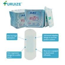 Furuize Panty liner Hygienic pads ABC Sanitary Napkin beautiful life tampons Pads 163MM copa menstrual