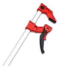 DURATEC – pince à cliquet rapide robuste en plastique f, fixation de pince pour menuiserie, barre de serrage pour bois