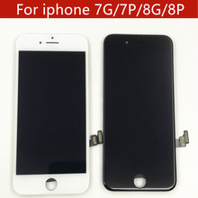 1PCS LCD For iPhone 7 Plus 8 Display Touch Screen Assembly Replacement Good 3D touch Free ship