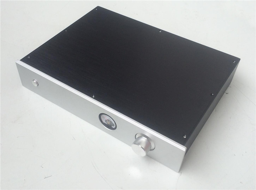 QUEENWAY BZ4308 hi-end CNC full aluminum chassis hifi box case integrated amp box 430mm*80mm*308mm 430*80*308mm резистор jantzen superes 5w 1 1 ohm