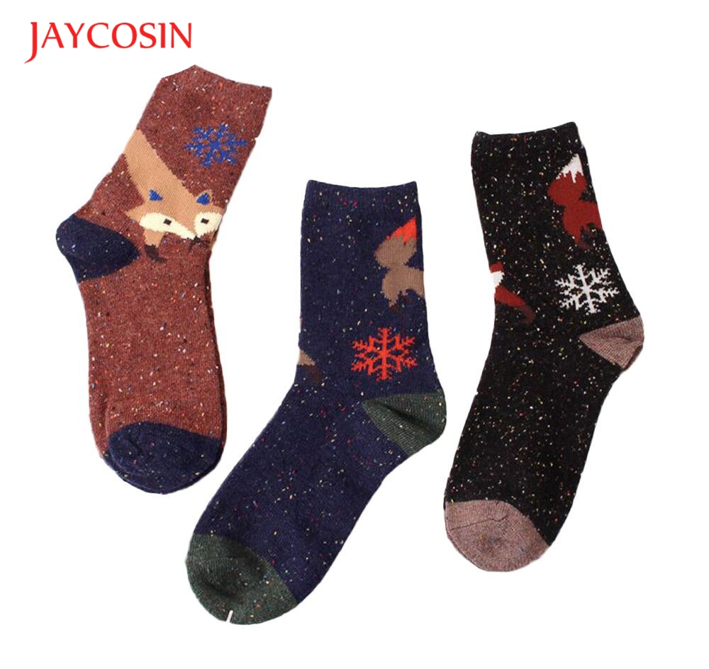 New Fashion  Coolbeener  Womens Animal Printed Casual Socks dec29 Drop Shipping