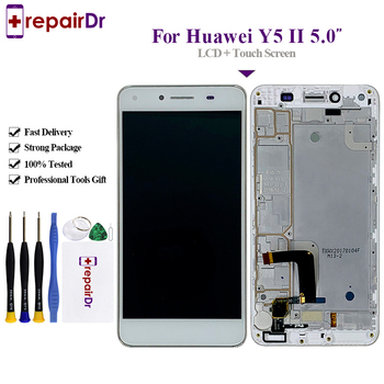 5Pcs/Lot For Huawei Y5 II LCD Display+Touch Screen 100% New Digitizer Screen Panel Replacement For Huawei Y5 2 Y5II Lcd Screen фото