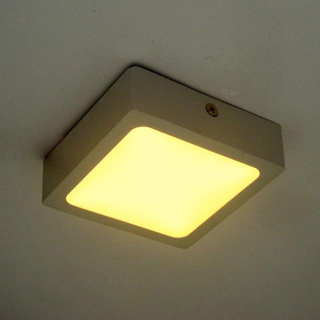 Us 1832 7 Offnowoczesne Lampy Sufitowe Led Dla Przedpokój łazienka Placu 90mm Aluminium Super Jasność 8 W Ultra Cienki światło Sufitowe Lampa W