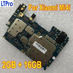 Image 1 - 100% נבדק עבודה מקורי סמארטפון MainBoard עבור שיאו mi mi 4i mi 4i M4i 16GB האם עם מלא שבבי circuts היגיון לוח