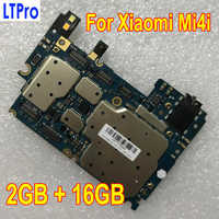 100% Tested Working Original Unlocked MainBoard For Xiaomi Mi4i Mi 4i M4i 16GB Motherboard With Full Chips Logic Circuts Board