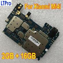 100% протестированная Рабочая оригинальная разблокированная материнская плата для Xiaomi Mi4i Mi 4i M4i 16GB Материнская плата с полным чипом, логическая схема
