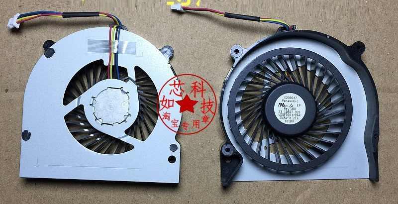 SSEA New CPU Ventilador Cooler para SONY SVE17 laptop fã