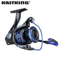KastKing Superior Ratio 5 2 1 Aluminum Spool Spinning Reel 10BB 2000 Series Folding Arm Baitrunner