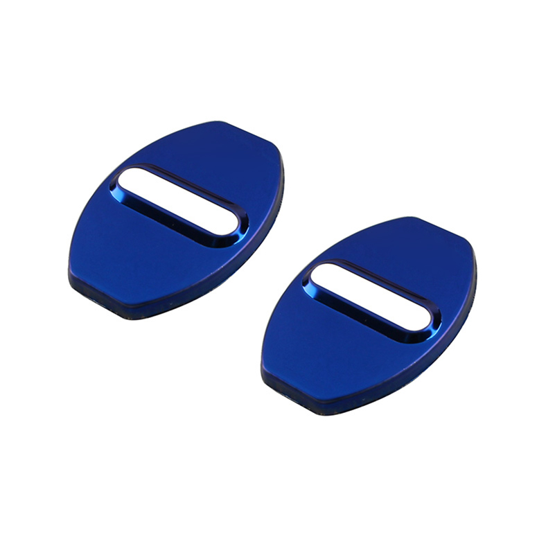 2pcs for Volkswagen Beetle 2012 2018 Door lock buckle Protective cover Stainless steel in Interior Mouldings from Automobiles Motorcycles