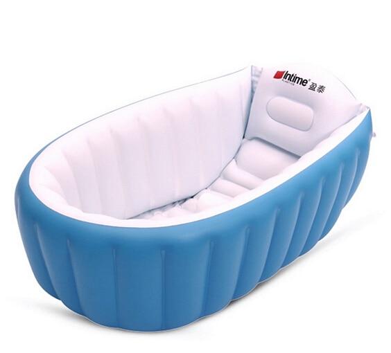 Tronge Design Inflatable Baby Bathtub Inflating Bath Tub