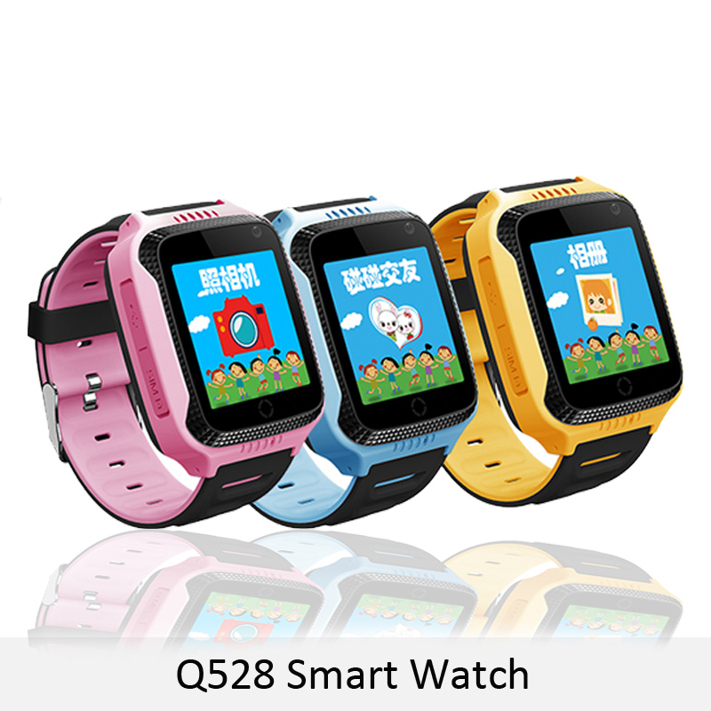 For Children Juessen 528 Y21 Touch Screen GPS Child Smart Watch With Camera Lighting Phone Location SOS Call Remote Monitor