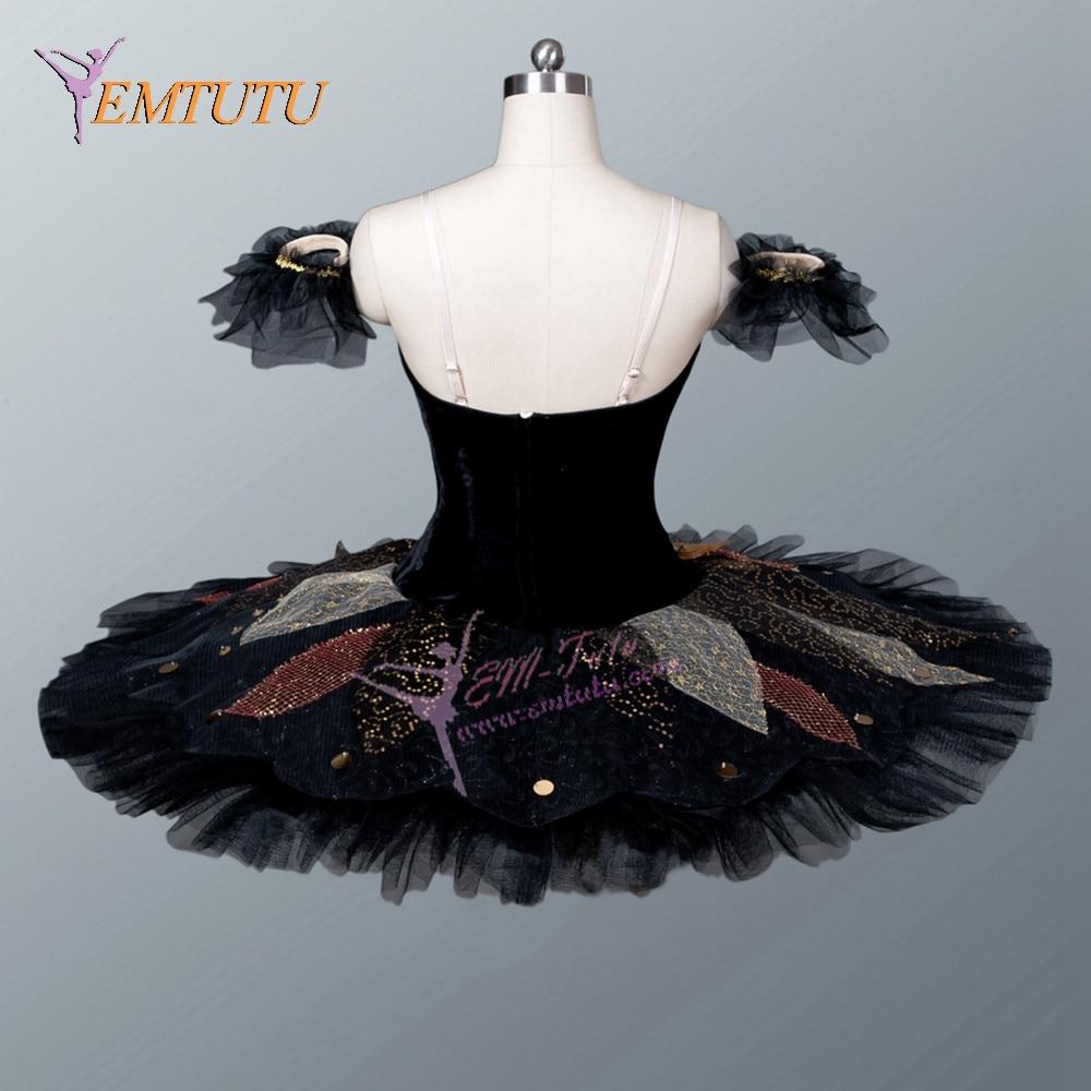 Picture of Adult Black Swan Ballet Tutu Swan Lake Professional Tutus Women Classical Platter Tutu Competition Performance Ballet Costume