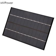 MVPower 4.2W 12V Solar Panel Charger Board Power Pack Silicon Black Portable Compact DIY