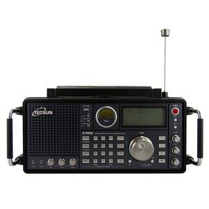 Image 1 - Tecsun S 2000 2 kanal dijital ayar masa üstü amatör amatör radyo SSB çift dönüşüm PLL FM/MW/SW/ LW hava tam bant