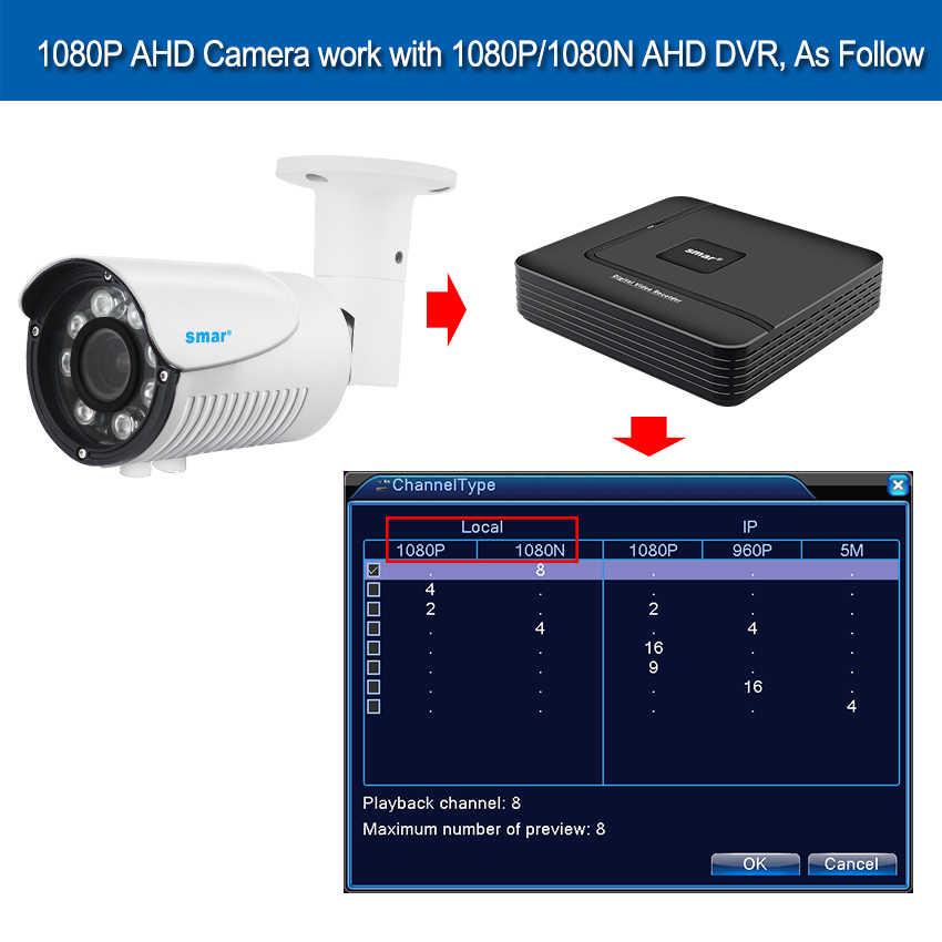Smar SONY 1080P AHD камера 1/2. 8 дюймов SONY IMX323 3000TVL AHDH Full HD CCTV камера видеонаблюдения Открытый IP67 металлический корпус