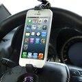 Travel Smart Universal Holder / Steering Wheel Phone Holder for iPhone 5 5S/ Smartphone (Black)