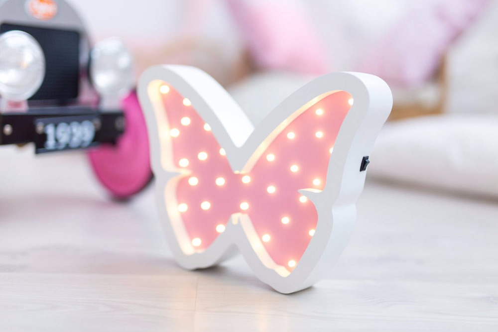 Luzes da Noite animados da borboleta night light Name1 : Night Light, lamp, luminaria, children's Night Light
