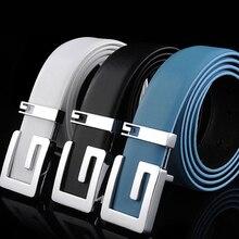 2016 New Designer Belts Men Colorful Real Leather Belt For Men GG Belt Luxury Waist Brand Belts Male Female High Quality PD015