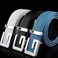 2017 Novos Cintos de Grife Homens Colorido Cinto De Couro Real Para Os Homens GG Cinto de Cintura Cintos de Marca de Luxo Masculino Feminino Alta Qualidade PD015