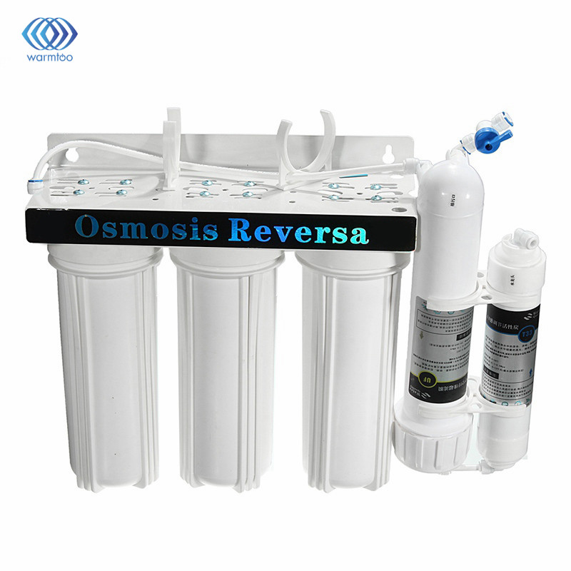 Household 5 Stage Water Purifier Three Filter Core Countertop Faucet Ceramic And Compressed Activated Carbon Filters 2012new double stage water purifier microporous ceramic filter actived carbon filter health beauty cooking water