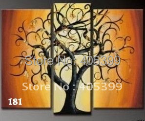 Free shipping !! Modern Style, Best Quality Canvas Oil Paintings for  House Decoration G181