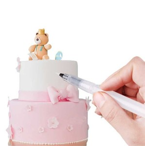 Image 2 - Nozzles Set Tool Dessert Decorateurs Cake Decorating Pen Icing Piping Cream Spuit Tips Muffin Cake Decorating Pen