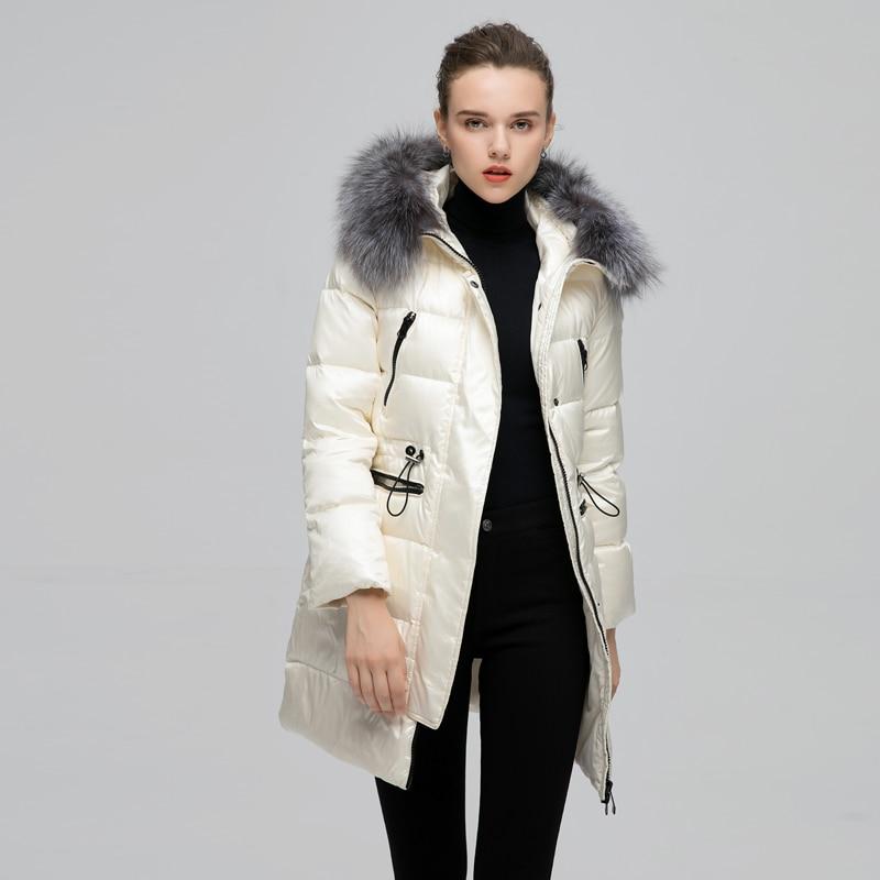Jojx 2018 Femme Manteau À Femmes Survêtement Veste Beige Fourrure D'hiver Chaud De noir Col Parka Capuchon Femelle rxEprqw0Yg