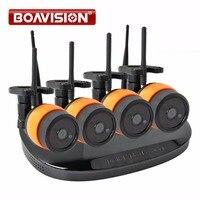 2Ch 4Ch 2 0MP 1080P WIFI IP Camera NVR Wireless Kit Waterproof Night Vision Plug And
